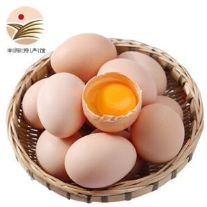 散养土鸡蛋 新鲜笨鸡蛋500g