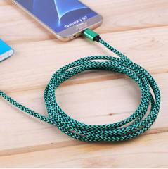 type-c合金手机数据线 iphone充电线 安卓手机数据线 颜色 随机
