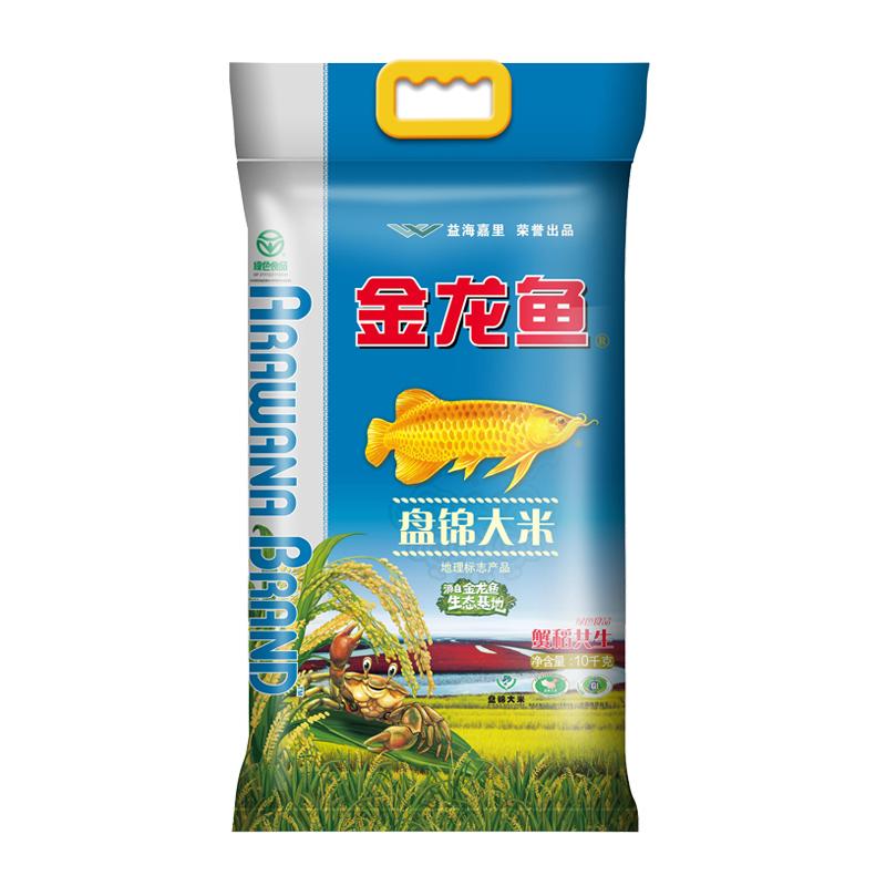 金龙鱼 盘锦大米 蟹稻共生10kg 东北大米 人气爆款